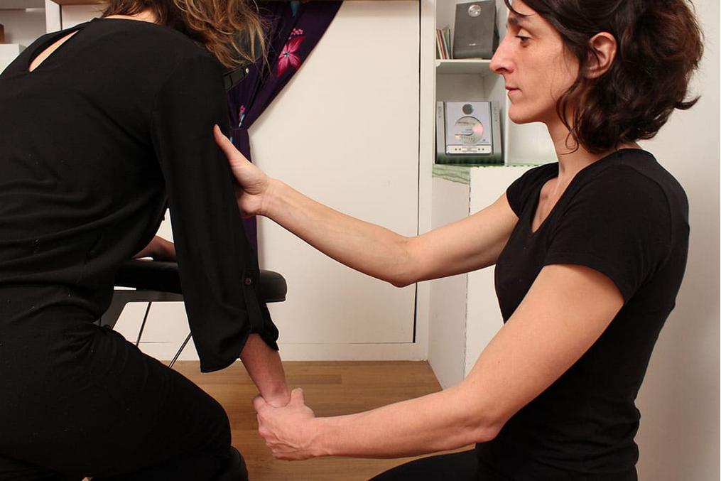 Le massage assis amma